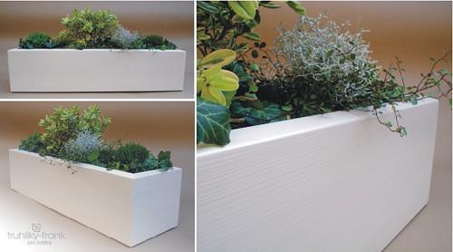 Dřevěný interiérový obal na truhlík /F4- 60komplet