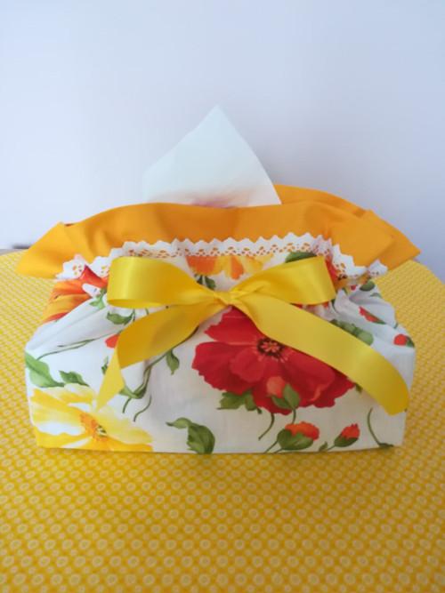 Kapesníčkovník žluté slézové květy