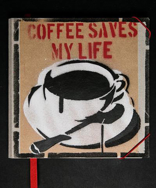 Notes (17,5x17,5 cm) COFFEE SAVES MY LIFE