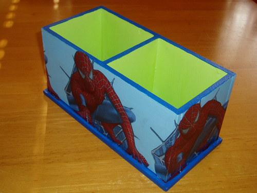 Dvojstojánek na tužky Spiderman