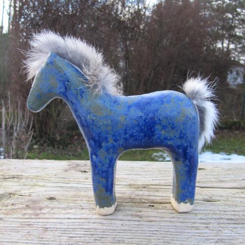 Jonatán - keramický koník