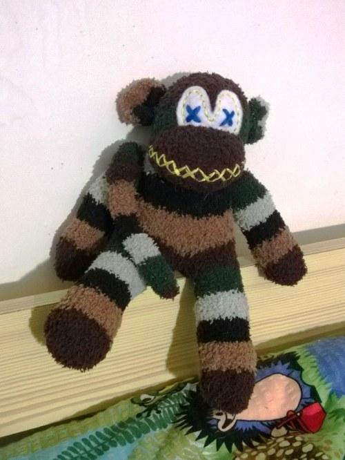Ponožkový opičák generál Fuska Vopička