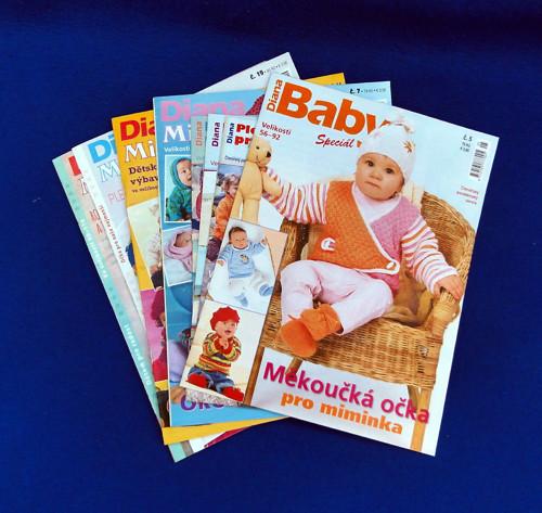 Baby, Mimi, Pletená móda pro děti - 8 ks