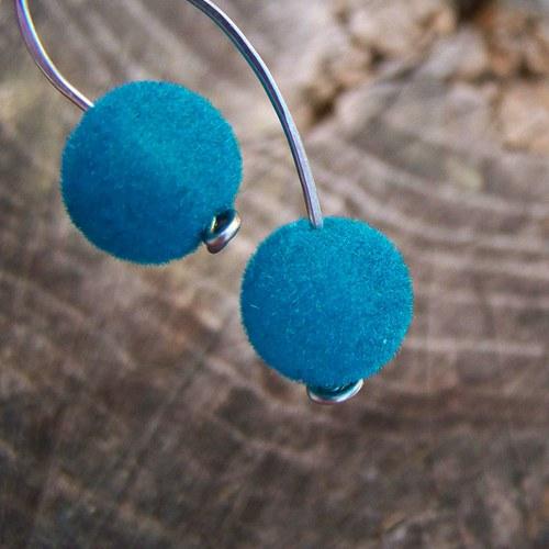 Modré dvou chlupatky