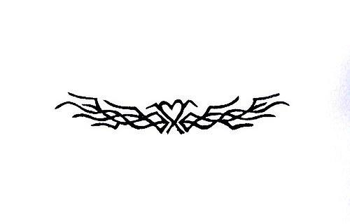 Tetování. Omyvatelné razítko.