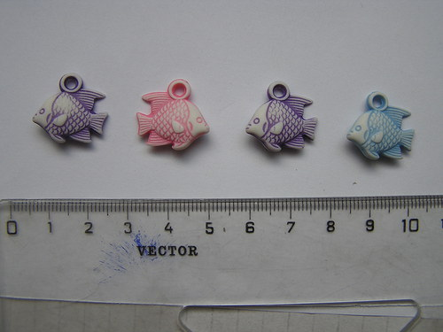 Korálky - rybička