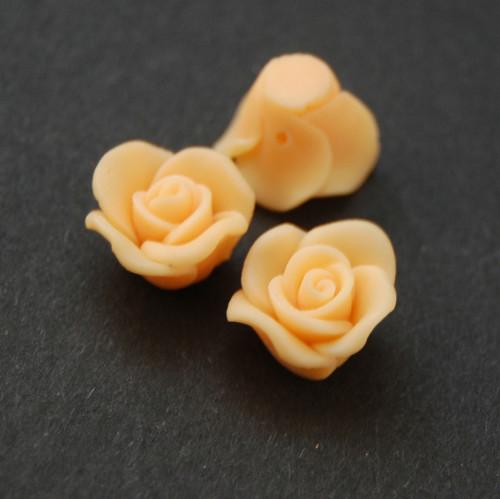 Růže korálek fimo   KV6
