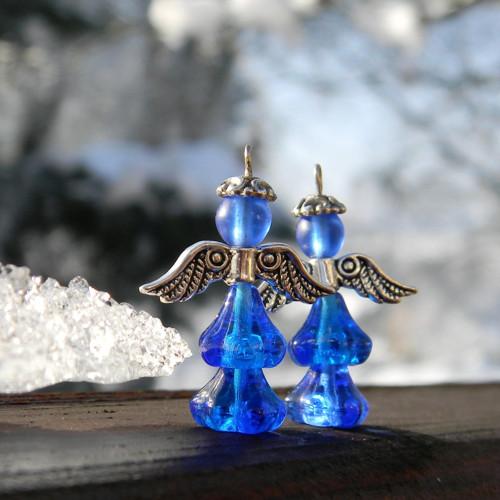 Andělky modré