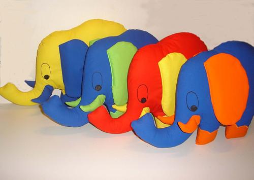 Polštářek slon Zvon