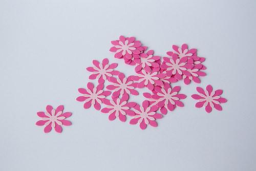 Kytka -tm.růžová-sv. růžová