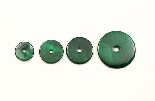 2ks- perleťové kolečko 25mm