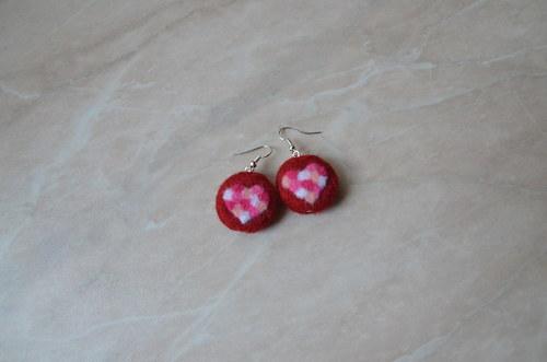 Valentýnka v červené