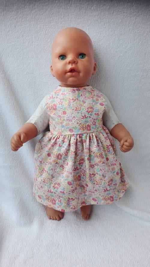 Obleček na panenku chou chou 48cm