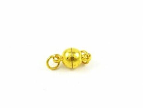Magnetic.zapínání koule 6mm (2sady) - zlatá