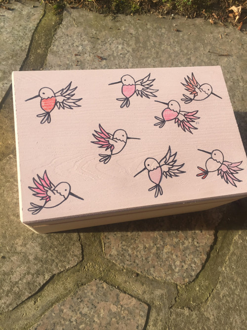 krabicka pro Silvii :)