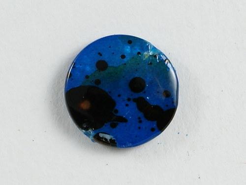 2ks perleťová kolečka 14mm