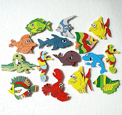 mořské rybky k zrcadlu
