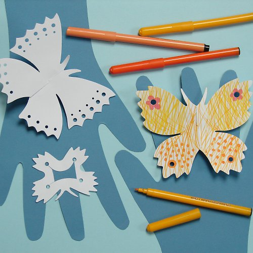 Motýlci na prst