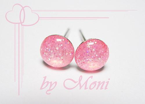 Třpytivky malé růžové