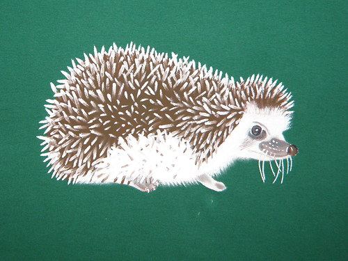 dámské tričko - ježek