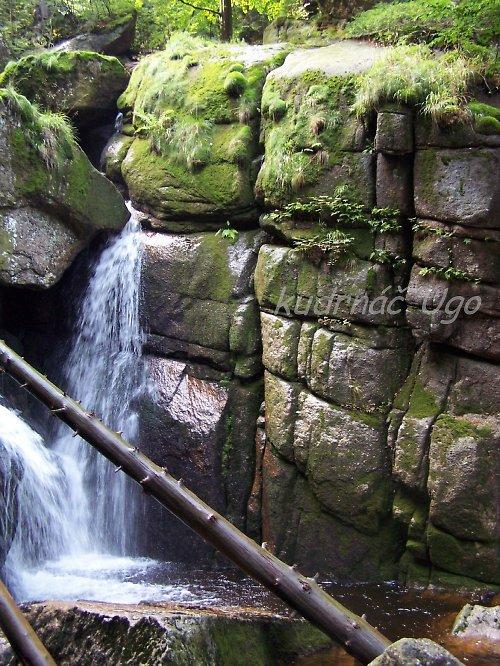 Vodopád na Bílém potoku v Jizerkách II.