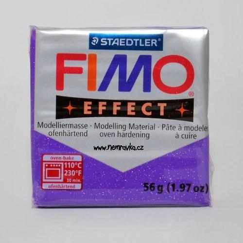 FIMO Effect / Glitter fialová (602)