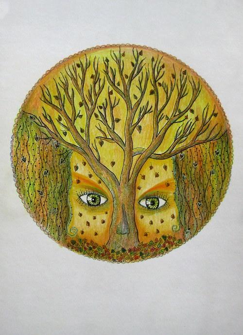 Oči podzimu