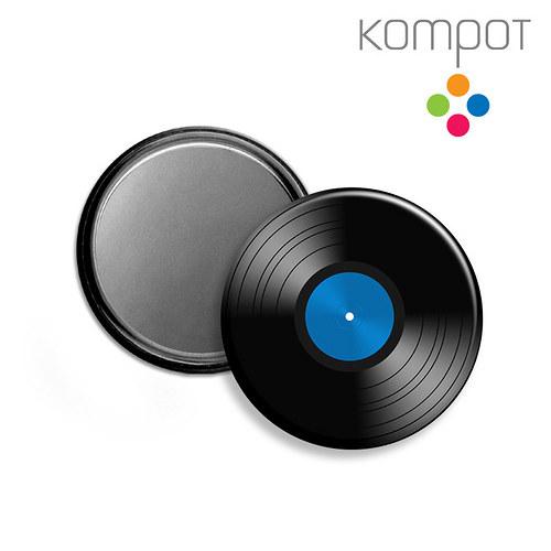ZRCÁTKO :: modrý vinyl