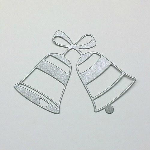 Výsek - Dva zvonky s mašlí