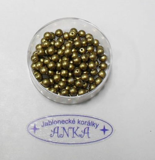 4mm zlaté mat 85ks