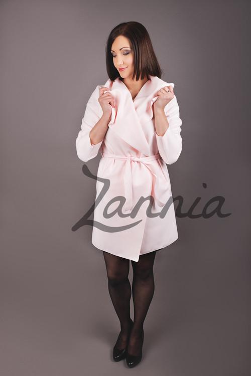 Kabát - růžová 2