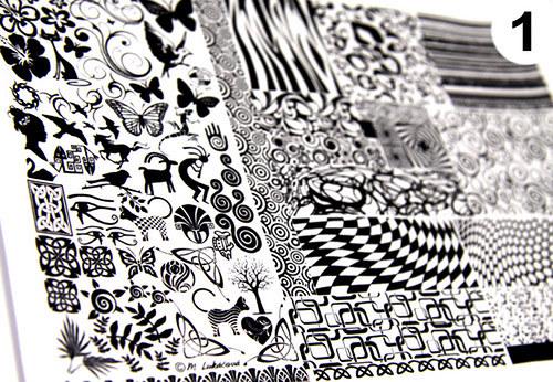 Žáruvzdorné obtisky - ARCH 1., 12 x 19cm, ZLATO