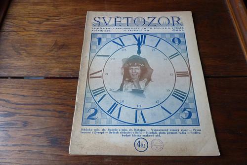 Časopis Světozor 8/1924