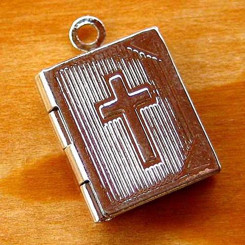Medailon Bible - 1ks - Platinový