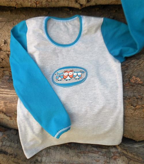 Dívčí triko - vel. 134 - skladem