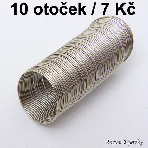 Prstýnkový paměťový drát, 10 otoček