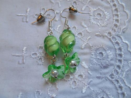 Zelené kvítky