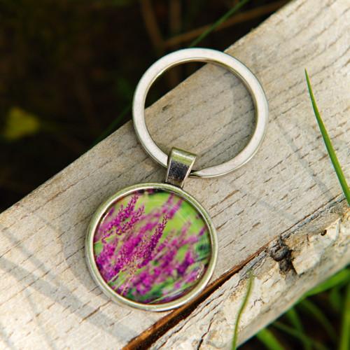 Levandulová - klíčenka