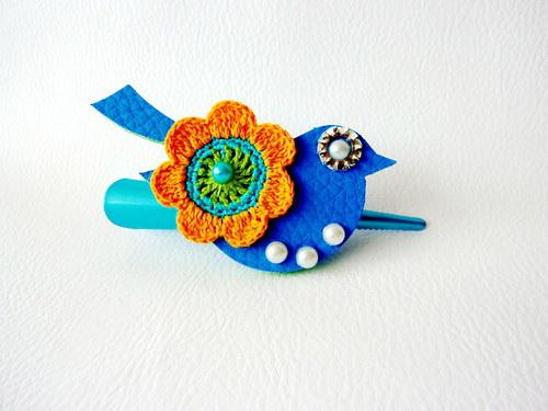 LittleJewels - spona Sininen