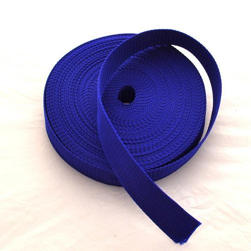 Popruh POP 4 cm - modrá střední