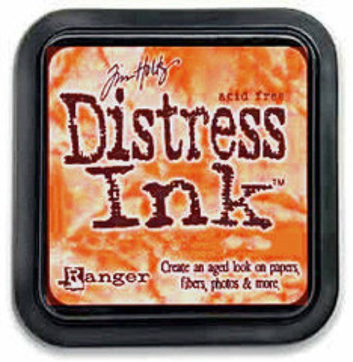 Distress Ink - polštářky s inkoust.Dried Marigold