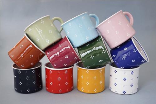 Kafáč 8 cm 4puntík - různé barvy