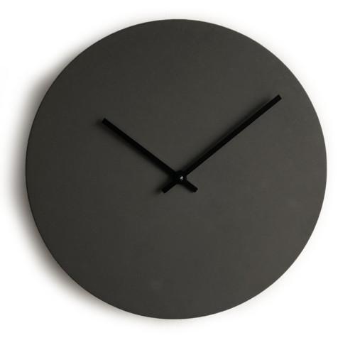 Betonové hodiny - antracitové