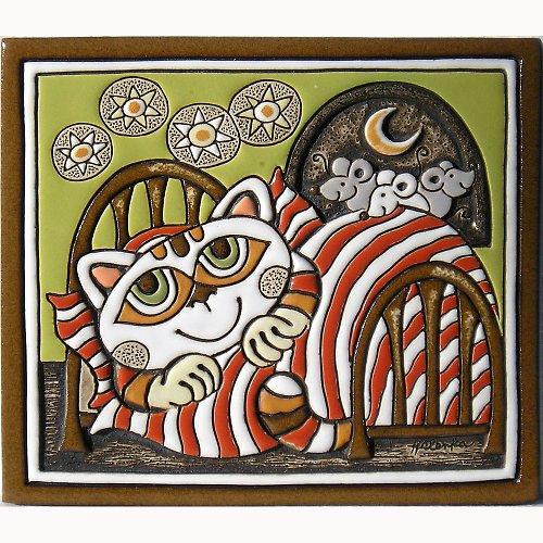 Kočka v peřině a myši K-102-Z