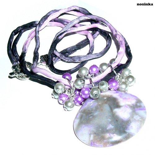 fialovo-šedivý jaspis - VÝPRODEJ