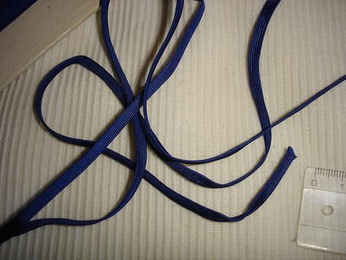 dutinka modrá 1m