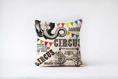 Polštář Cirkus - s výplní