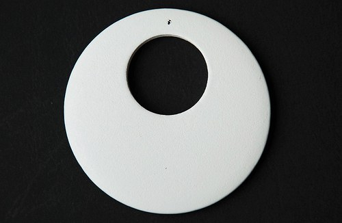 Dřevěné kolečko - bílé