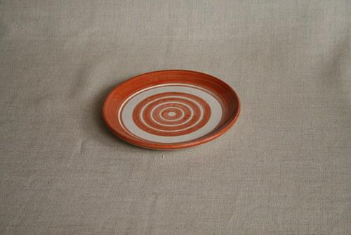 talíř dezertní-cihlový