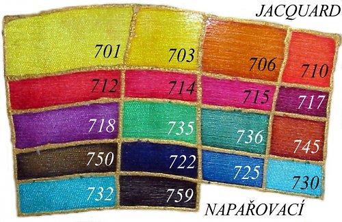 Silk color 714 karmínově rudá, 20 ml